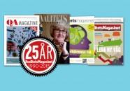 Kvalitetsmagasinet firar 25 år